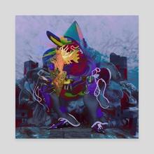 Wizard - Canvas by Nadya Plyamko