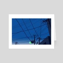 tokyo - Art Card by emilee graverson