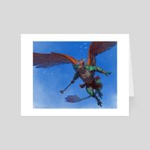Smaugust2020: Quetzalcoatl  - Art Card by Taran Fiddler