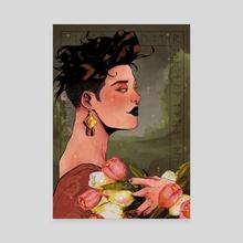 Fehu - Canvas by Miya Arte