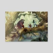 Labyrinth - Acrylic by Nichole and Kelly Matthews