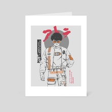 KANEDA SOLO - Art Card by GOATHE