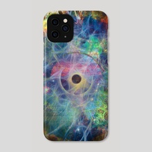 The Eye of Time - Phone Case by Bruce Rolff