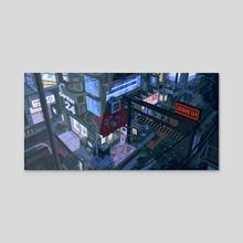 Pieces - Acrylic by waneella