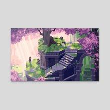 Talk - Acrylic by Daniel Riise