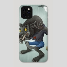 Wolfman - Phone Case by Giordano Aita