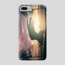 Heavy Wings - Phone Case by mtforlife