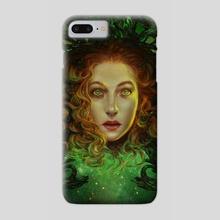 Cosmic Girl - Phone Case by Dagmara Matuszak