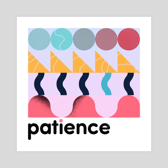 patience by jamie bowker