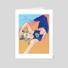 Jolyne - Art Card by Kathleen Abbott