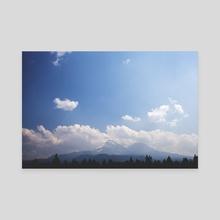 Oregon - Canvas by Daniel Chern