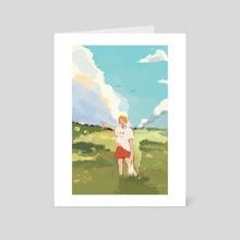 """""""let's take a detour, hyung"""" - Art Card by Luna"""