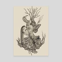 Nightmare Amalgam - Canvas by Sirimontra Strauss