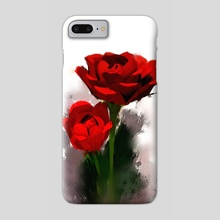 Rose Watercolor 1 - Phone Case by Archv Rit
