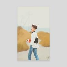 "iKON B.I ""Return"" - Canvas by milkyopi"