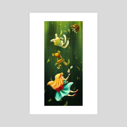 Falling Alice by Louis Wiyono