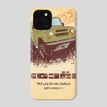 Off Road 4x4 UAZ - Phone Case by Alexander Anisenkov