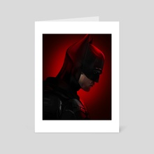 The Batman (Portrait) - Art Card by Mizuri