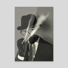The Invisible Man #1 - Acrylic by Emmanuel Polanco