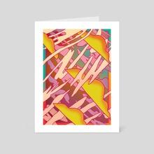 Dancefloor - Art Card by Jack Coltman