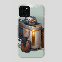 R2D2 - Phone Case by Bjorn Hurri