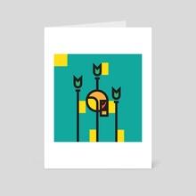 Foreboding - Art Card by Alex Jahncke