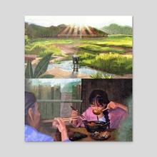 Li Ziqi Studies (2/2) - Acrylic by S