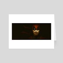 Deadpool - Pulp  - Art Card by Rafael Antonio