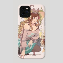 New friends - Phone Case by Vanette Kosman