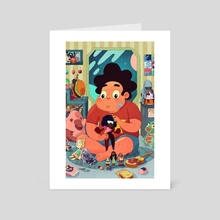 Steven  - Art Card by Boya Sun