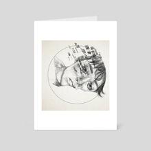 C O M F O R T - Art Card by Q Drachen