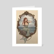 The Little Mermaid - Art Card by Jasmin Darnell
