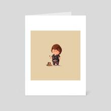 Tiny Chunk - The Goonies - Art Card by Martin Montgomery