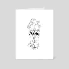 Shibari 26 - Art Card by Patryk