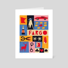 FX Fargo - Art Card by Maria Ku