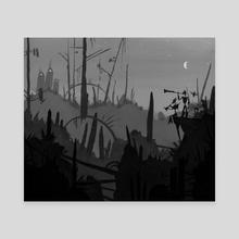 Wasteland Sonata - Canvas by Ra Lu