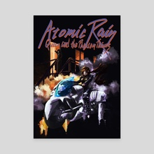 Atomic Rain - Canvas by Paul Geronimos