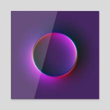 Super-Neumorphism #10 - Acrylic by Martin Naumann