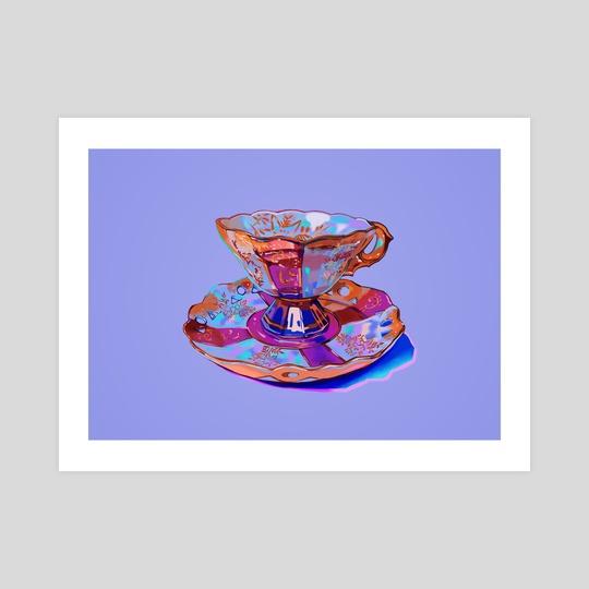 Tea Cup II by Meyoco