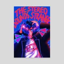 Minato Arisato x MGMT - Canvas by Star Lambrini