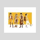Fashionable Cass - Art Print by Spica Starson