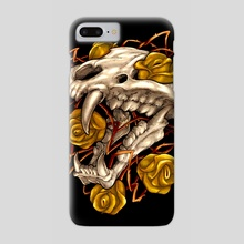 Golden Panther - Phone Case by sarod mahakiattikhun