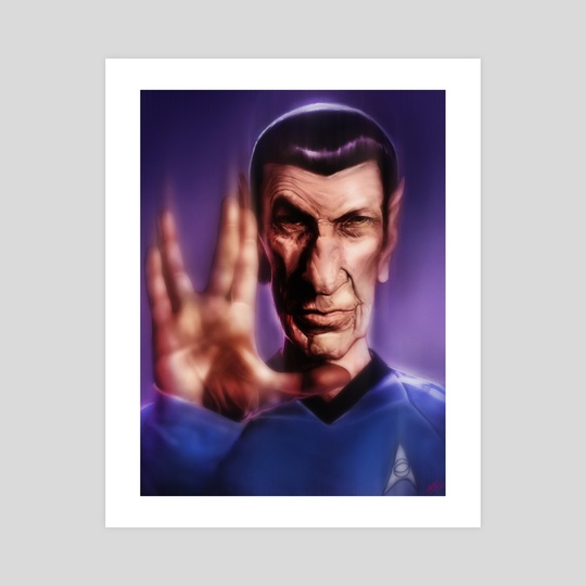 Mr. Spock by Rafael Rivera