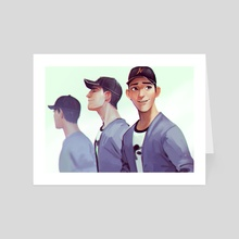 Tadashi is here - Art Card by M