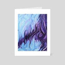 Blue - Art Card by David Celli