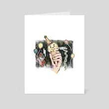 POGO'S ICE CREAM - Art Card by GABA girl