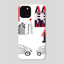 Typography 15 - Phone Case by Michal Eyal