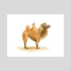 Marvin the Camel - Art Print by Lucy Reynolds