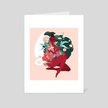 Beginning of Summer - Art Card by Samantha Mash