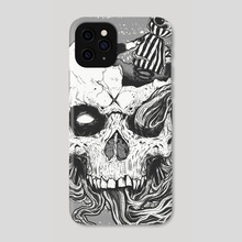 jack in the skull - Phone Case by Martin Laforest